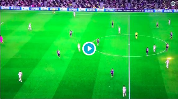 (Video) Van Dijk's long ball to Mo Salah a thing of beauty; leads to Milner chance that no.7 should score