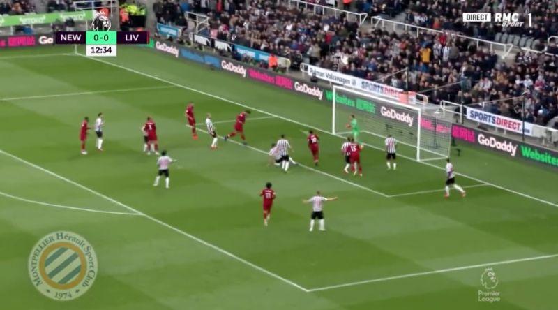 (Video) – Van Dijk nods in easy free header for 1-0
