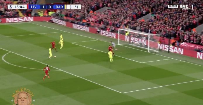 (Video) – Matip with insane last-ditch tackle to completely rob Messi