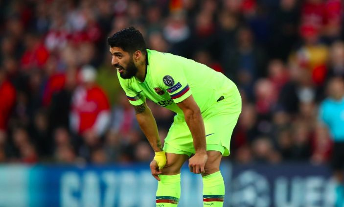 Luis Suarez's Barcelona future in doubt after Liverpool humbling at Anfield