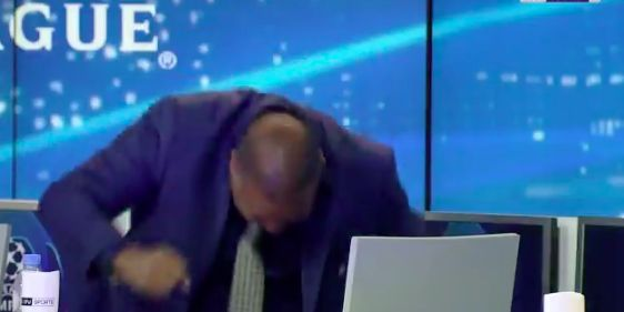 John Barnes' hilarious post-match reaction is all of us after Liverpool 4-0 Barcelona