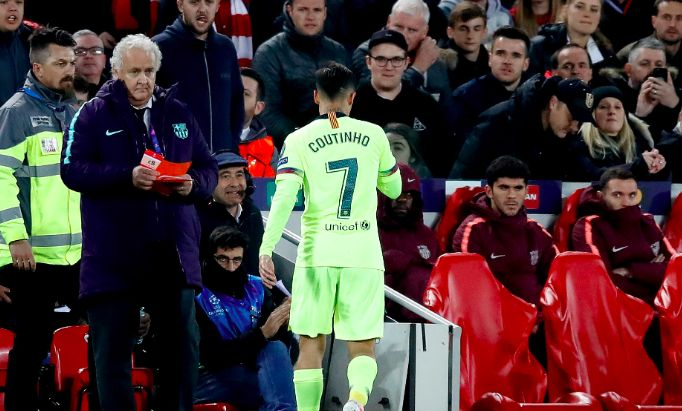 Coutinho savaged by Spanish press as Phil goes missing at Anfield
