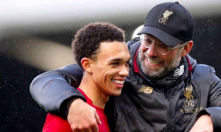 TAA drops hint at Jurgen Klopp's plans for the transfer window