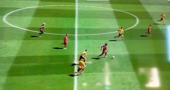 (Video) Origi produces sublime piece of midfield skill