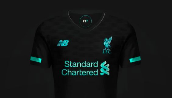 huge selection of 17ed7 a2cc4 Image) Liverpool's third kit for 2019/20; Black & Teal strip ...