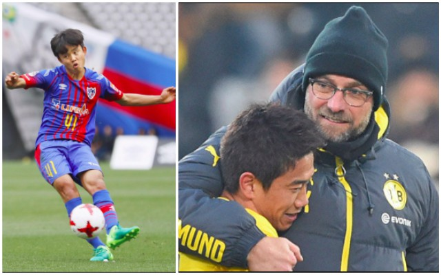 'Japanese Messi' wants to become Klopp's Next Kagawa – but Real Madrid/PSG lurking