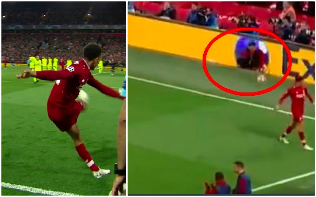 (Video) Check out role of Ballboy in Liverpool's epic fourth