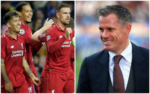 """Carra claims Reds can win UCL and says away tie vs Barça """"is a 50-50 game"""""""