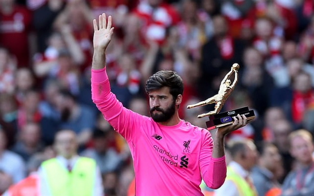 LFC's Alisson makes suggestive comment on the Ballon d'Or