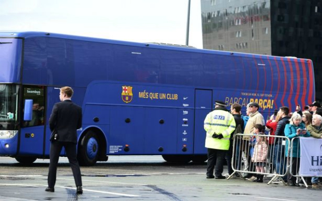 Merseyside Police quash rumours Barça team bus was stolen in Liverpool ahead of UCL 2nd leg