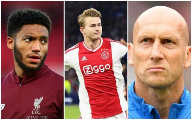 Stam explains why De Ligt should sign for LFC, but he's forgetting something…