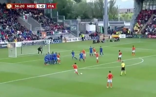 (Video): Ki-Jana Hoever FK helps Netherlands retain U17 European crown