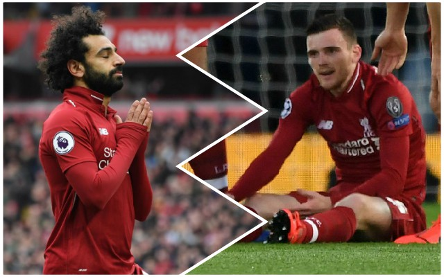 The latest on Salah and Robertson injuries ahead of Wolves clash