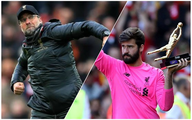 Stunning stat shows how much better 'best in the league' Alisson is compared to Mignolet and Karius