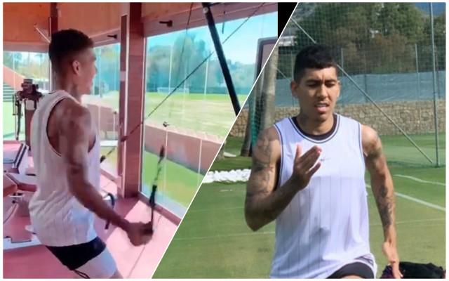 The latest on Firmino's injury ahead of Tottenham clash