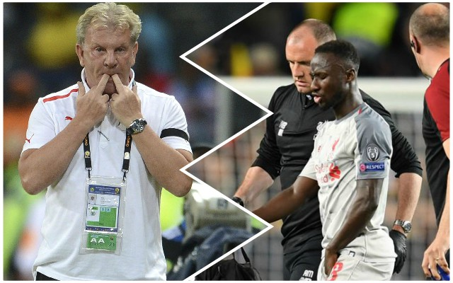Guinea boss makes huge claim about Keita's fitness ahead of the Champions League final