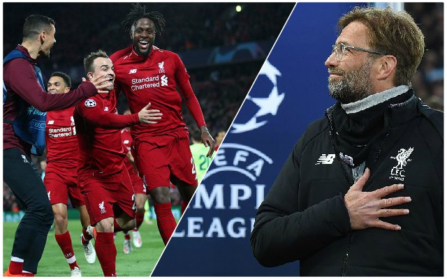 The three key moments which took the Reds to the Champions League final