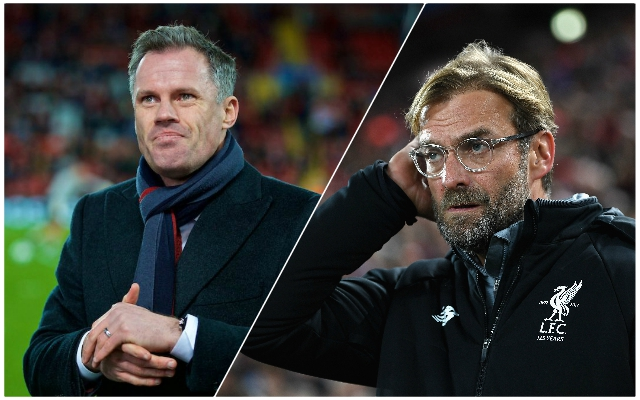 Carra gives his verdict on the one selection dilemma Klopp has ahead of CL final