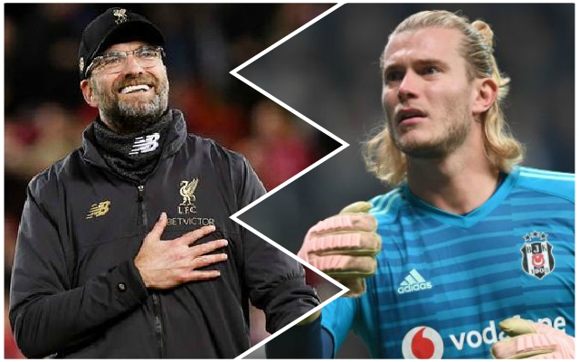Loris Karius slammed by Besiktas for his conduct in Turkey