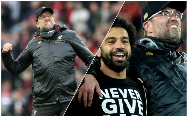 Klopp's reaction to missing out on the Premier League title was brilliant