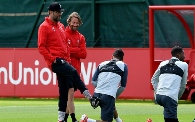 "Klopp kicking ""backsides in training"" as he gears Reds up for victory in CL final"
