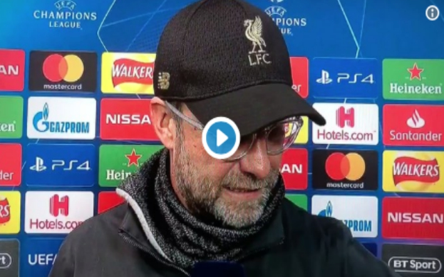 "(Video) – Klopp: ""These boys are f***ing giants. If you have to fine me, fine me."""