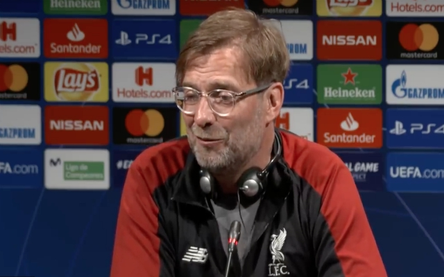 "Klopp insists ""the better we are, the more emotional the atmosphere will be"" at Camp Nou"