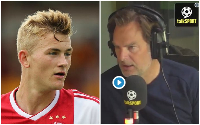 Ajax coach urges Matthijs de Ligt to consider joining Liverpool amid speculation