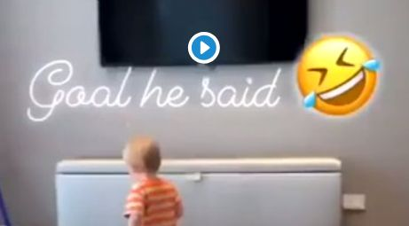 (Video) Gerrard's wife shares adorable video of son Lio playing football