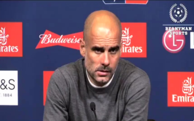 (Video) – Angry Pep won't just say 'no' as reporter grills him on dodgy payments