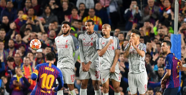 Matip convinced there were three Fabinhos on the pitch v. Barcelona