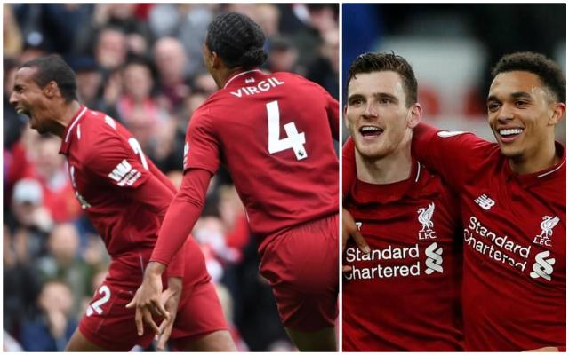 (Opinion): Insane goal contribution stats after Newcastle win prove Reds' defenders are on another level