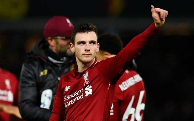 Robertson further endears himself to Reds by staying late at St James' Park