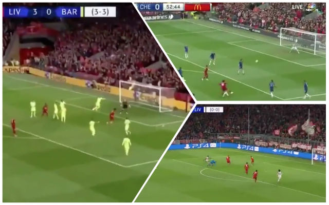 (Video) Liverpool's Best 10 goals of 2018/19; Firmino 6th, Trent 10th