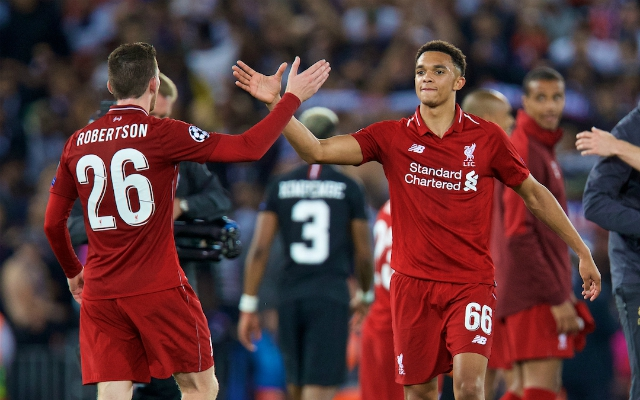 Trent Alexander-Arnold makes CL history as LFC confirm starting XI to take on Spurs
