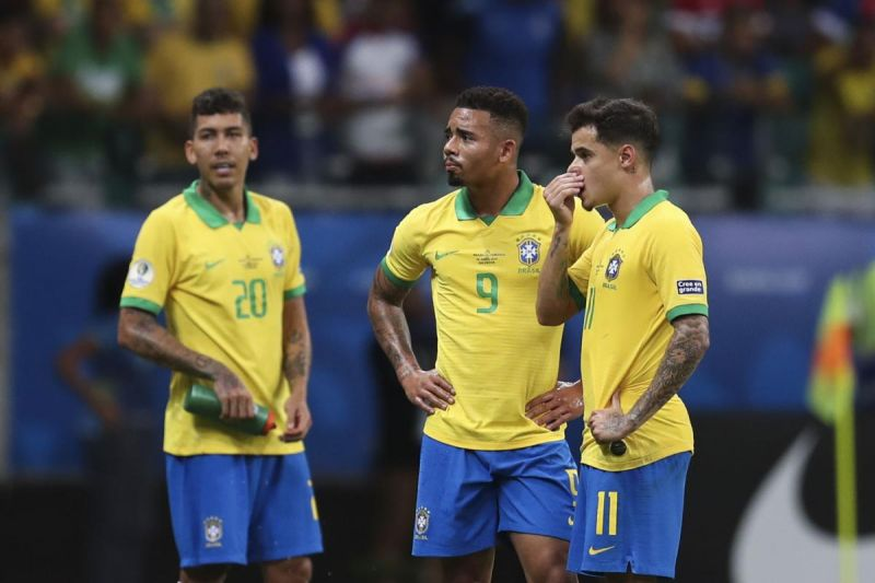 Brazil booed off after draw involving three disallowed goals; Reds star denied winner