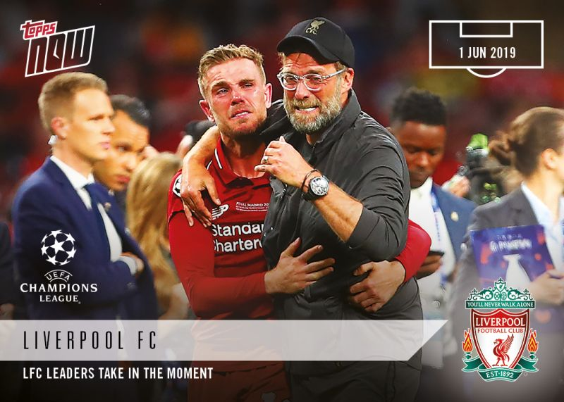Rank these 10 iconic photos from LFC's CL Final Victory! Hendo's tears, Origi's strike, Team YNWA & more!