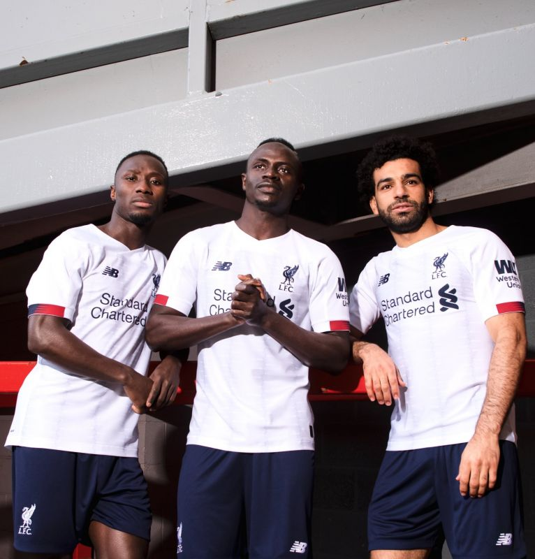 First official photos of Liverpool's new away kit have been revealed