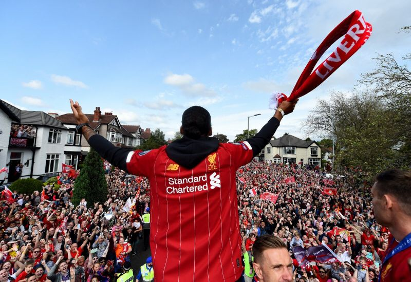 Virgil van Dijk sends classy message to Liverpool fans after incredible season