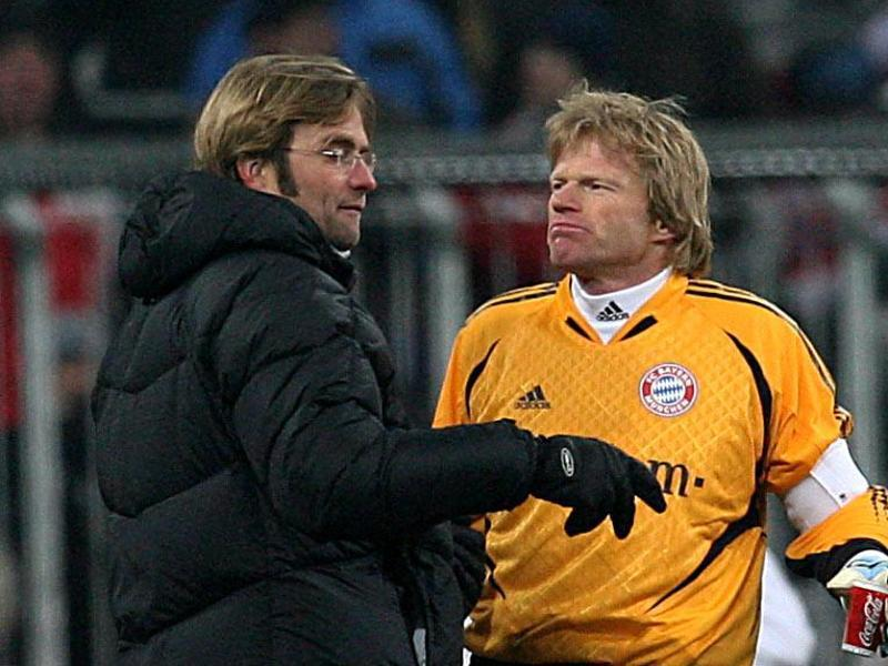 Klopp: Why I thought Oliver Kahn was an 'arrogant pr*ck' but don't anymore