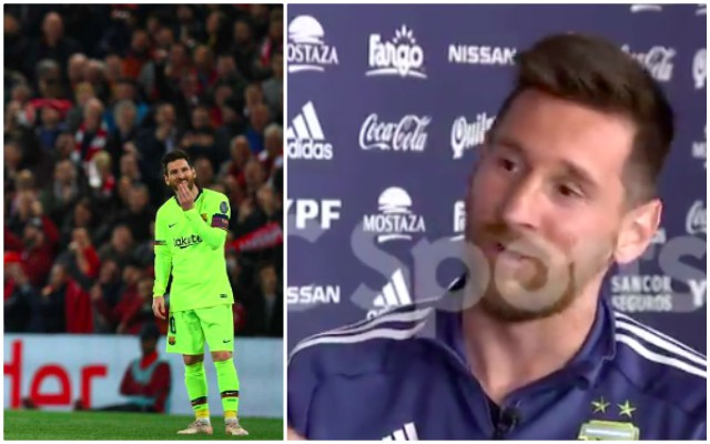 Messi's son hilariously trolls dad about Liverpool 4-0 Barcelona