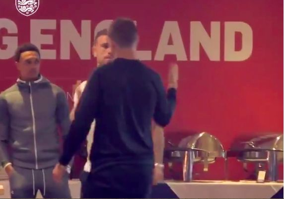(Video) Awkwardness everywhere as Hendo & Kane meet at England