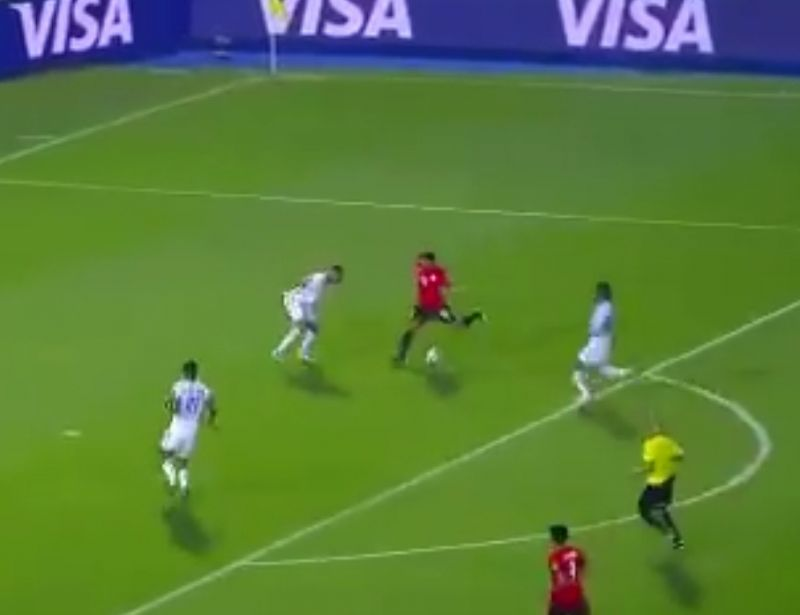 (Video) Salah nets wonderful goal for Egypt at AFCON