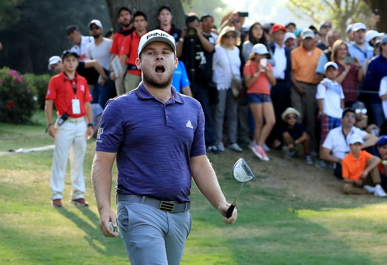 US Open golfer pays tribute to Liverpool's CL victory