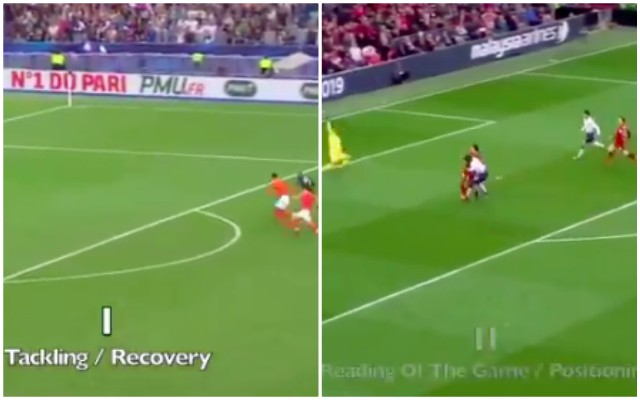 (Video) Unreal: 2:20 of Van Dijk schooling the likes of Mbappe, Kane, Sane & others