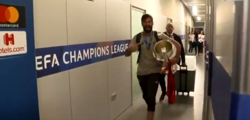 (Video) Another clip shows how the Liverpool squad are a great set of lads