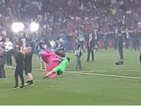 (Video) Hilarious Alisson UCL final clip you haven't seen yet