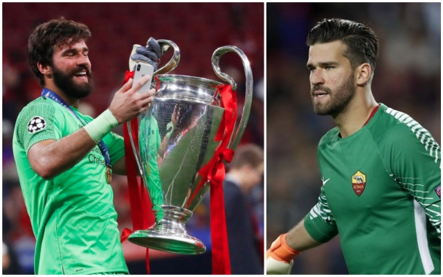 "Roma's current ""nightmare"" reminds Reds why Alisson was a dream transfer"