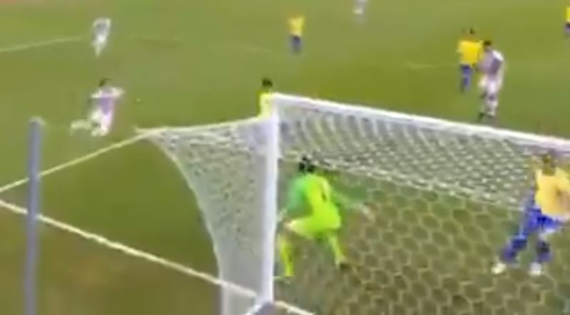 (Video) Alisson pulls off great save in superhuman Brazil display