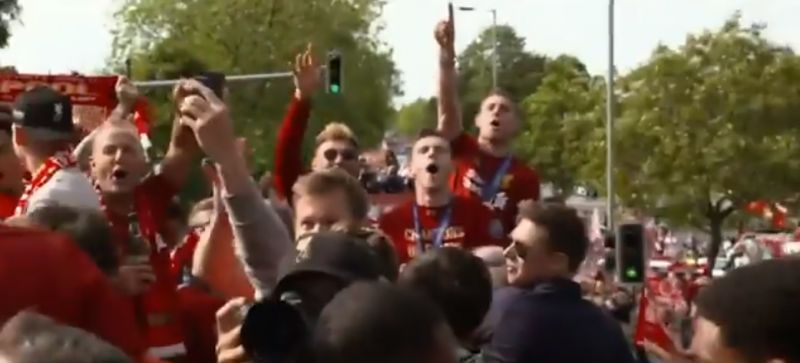 (Video) Incredible behind the scenes footage of UCL parade in Liverpool